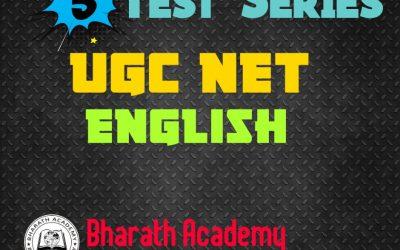 UGC NTA NET PAPER 2 : ENGLISH TEST SERIES