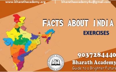 FACTS ABOUT INDIA (PSC GRADUATE LEVEL)